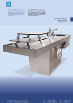 UFSK International:Download: Washing & Embalming, Dissection Tables - UFSK International