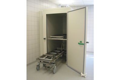 UFSK International: Mortuary Refrigeration Units with Rack Loading - image 1