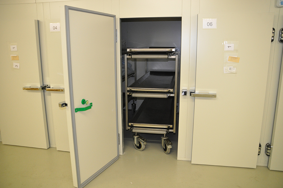 Mortuary Refrigeration Units with Rack Loading - UFSK