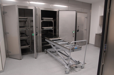 UFSK International: Mortuary Refrigeration Units with Rack Loading - image 9