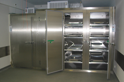 UFSK International: Mortuary Refrigeration Units with multiple tiers per door - image 1