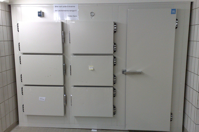 UFSK International: Mortuary refrigerations units with single doors - image 2